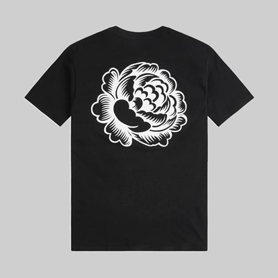 OBEY ORGANIC FLOWER SS T-SHIRT BLACK