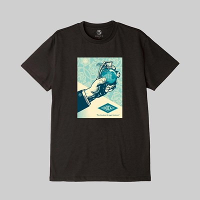 OBEY ROYAL TREATMENT SS T-SHIRT BLACK