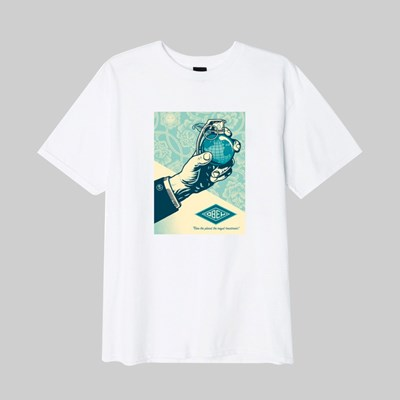 OBEY ROYAL TREATMENT SS T-SHIRT WHITE