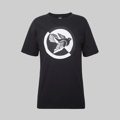 OBEY SPLIT DOVE SS T-SHIRT BLACK