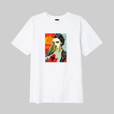 OBEY WRONG PATH SS T-SHIRT WHITE