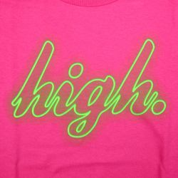 Odd Future High Neon T Shirt Pink