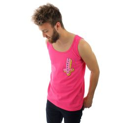 Odd Future Its Us Cross Tank Top Pink