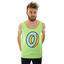 Odd Future Single Donut Tank Top Lime