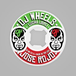 OJ WHEELS EZ EDGE ROJO LUCHA LIBRA 52MM