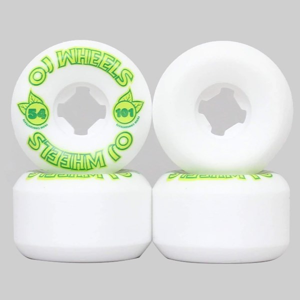 OJ WHEELS FROM CONCENTRATE WHITE 54MM