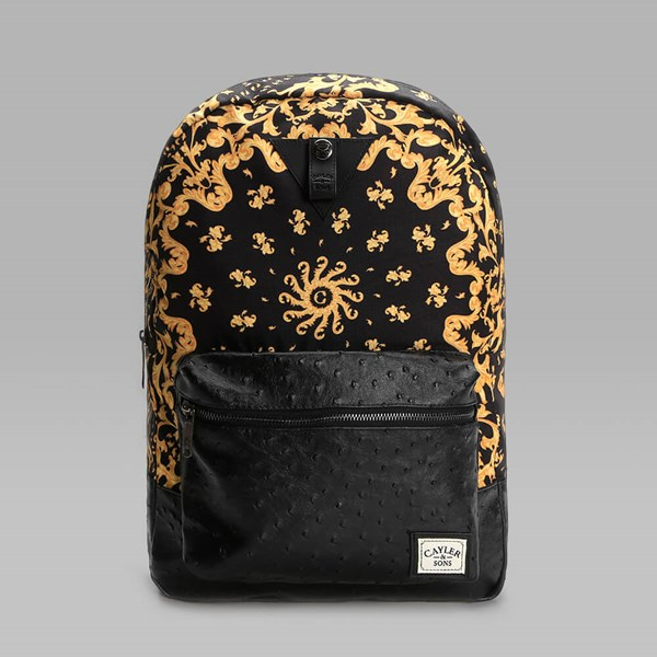 CAYLER & SONS PAISACE BACKPACK BLACK GOLD