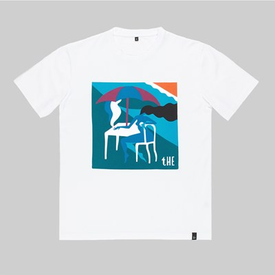 BY PARRA THE MONACO SS T-SHIRT WHITE
