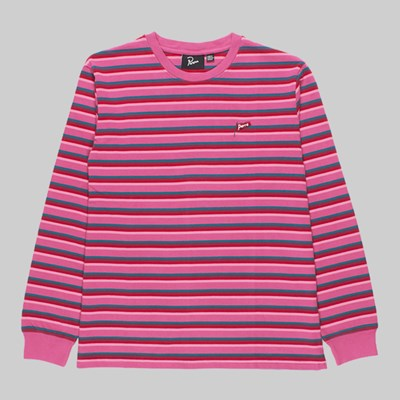 BY PARRA FLAPPING FLAG LONG SLEEVE JERSEY PINK