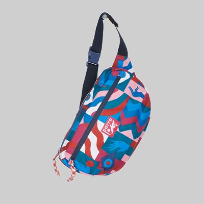 BY PARRA GRAB THE FLAG WAIST BAG MULTI