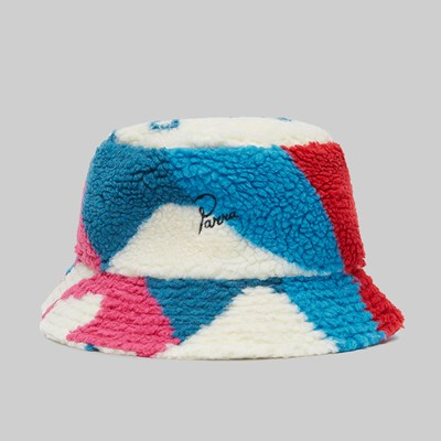 BY PARRA SHERPA FLEECE BUCKET HAT MULTI