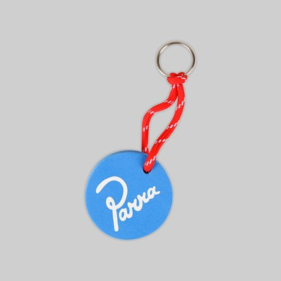 BY PARRA FLOATY KEYCHAIN SIGNATURE BLUE