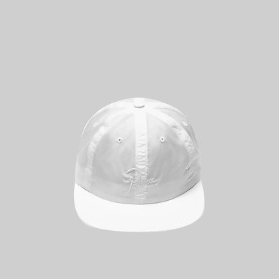 BY PARRA SIGNATURE RIPSTOP CAP WHITE