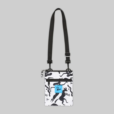 BY PARRA WORKOUT WOMAN HORSE POUCH WHITE