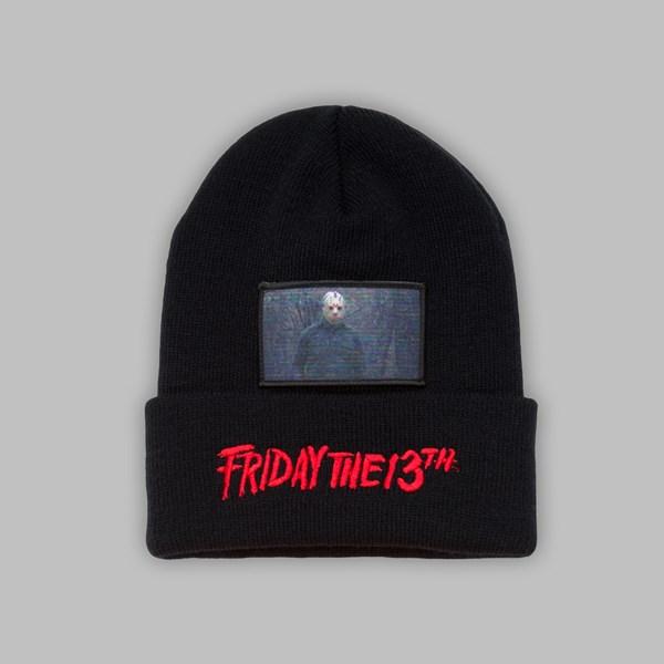 Friday The 13th Beanie Black