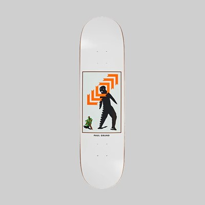 POLAR SKATE CO. PAUL GRUND 'FRAMED' DECK 1992 SHAPE