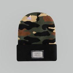 Cayler & Sons Plated Old School Beanie woodland-Black