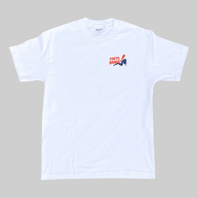 POETS BING SHORT SLEEVE T-SHIRT WHITE