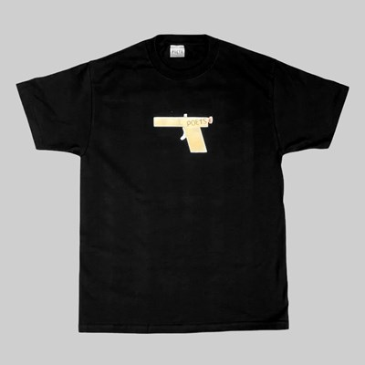 POETS GLOCK SHORT  SLEEVE T-SHIRT BLACK