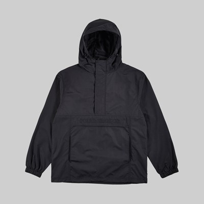 POLAR SKATE CO. ANORAK JACKET BLACK