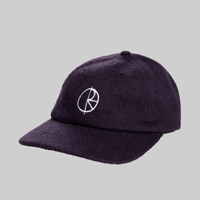 POLAR SKATE CO. BOILED WOOL CAP PLUM