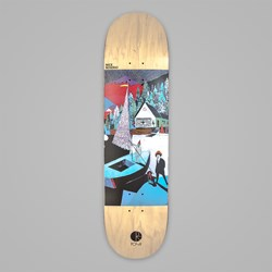 POLAR SKATE CO. BOSERIO AMTK RAINBOW DECK 8.25""