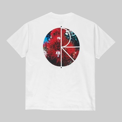 POLAR SKATE CO. CALLISTEMON FILL SS T-SHIRT WHITE