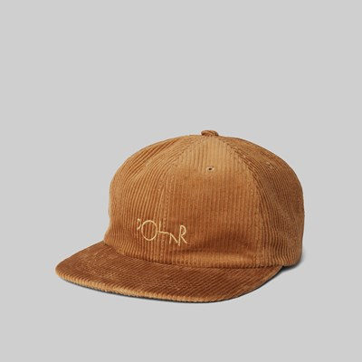 POLAR SKATE CO. CORD CAP TAN