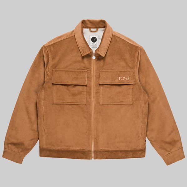POLAR SKATE CO. CORD JACKET TAN