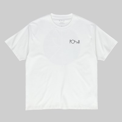 POLAR SKATE CO. GARDEN FILL LOGO SS T-SHIRT WHITE