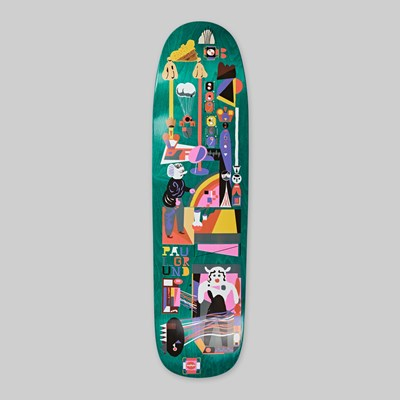 POLAR SKATE CO. PAUL GRUND 'FREQUENCY' DECK P9