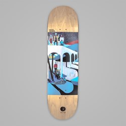 POLAR SKATE CO. HALBERG AMTK RAINBOW DECK 8.125""