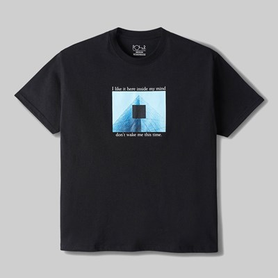 POLAR SKATE CO. I LIKE IT HERE SS T-SHIRT BLACK