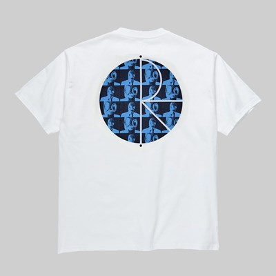 POLAR SKATE CO. KLEZ FILL LOGO SS T-SHIRT WHITE