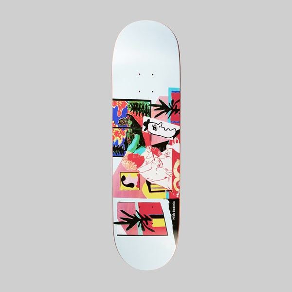 POLAR SKATE CO. NICK BOSERIO 'THE ARTIST' DECK 8.625""