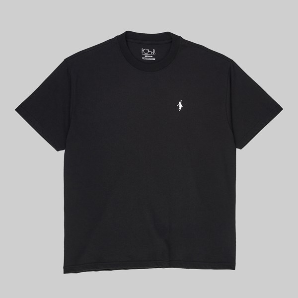 POLAR SKATE CO. NO COMPLY SS T-SHIRT BLACK