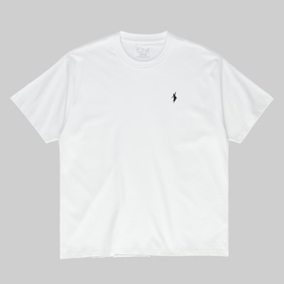 POLAR SKATE CO. NO COMPLY SS T-SHIRT WHITE