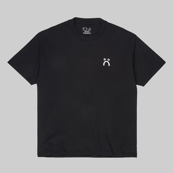 POLAR SKATE CO. SAD SS T-SHIRT BLACK
