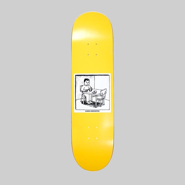 POLAR SKATE CO. HERRINGTON 'SPILLED MILK' DECK 8.5""