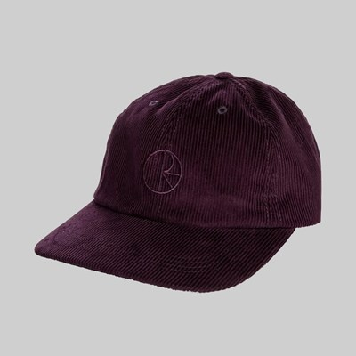 POLAR SKATE CO. CORD CAP PRUNE