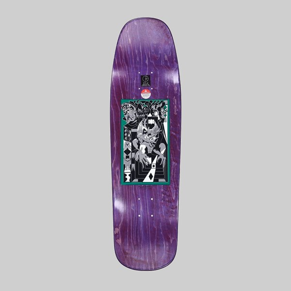 POLAR SKATE CO. PAUL GRUND 'LEGACY' 1992 SHAPE