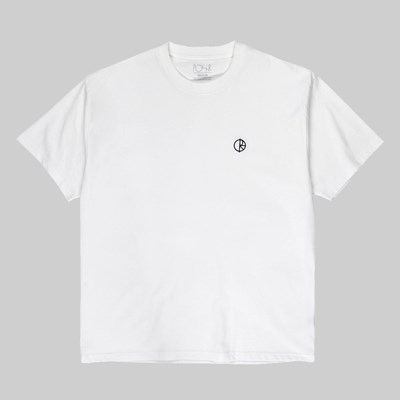 POLAR SKATE CO. TEAM LOGO SS T-SHIRT WHITE