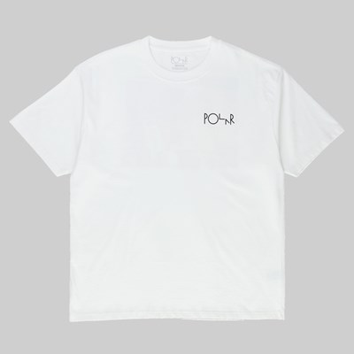 POLAR SKATE CO. THE ARTIST SS T-SHIRT WHITE