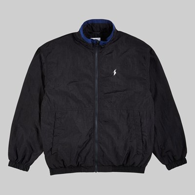 POLAR SKATE CO. TRACK JACKET BLACK