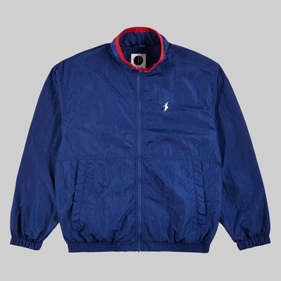 POLAR SKATE CO. TRACK JACKET BLUE