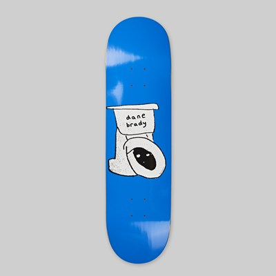 POLAR SKATE CO. DANE BRADY 'TOILET' DECK DANE 1