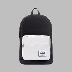 HERSCHEL POP QUIZ BACKPACK BLACK-WHITE