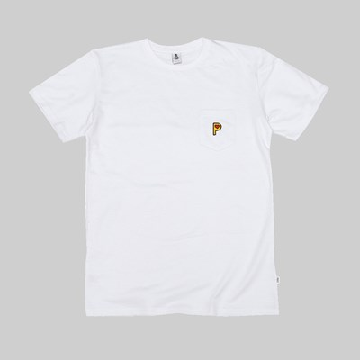 POST DETAILS POP P FRENCH TERRY T-SHIRT WHITE