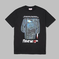THE HUNDREDS X FRIDAY THE 13TH POSTER TEE BLACK