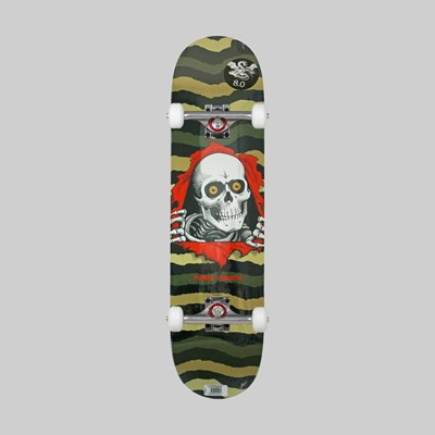 POWELL PERALTA COMPLETE RIPPER ONE OFF OLIVE 7